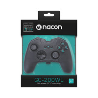 Nacon Wireless Gaming Controller For PC PCGC-200WL Black