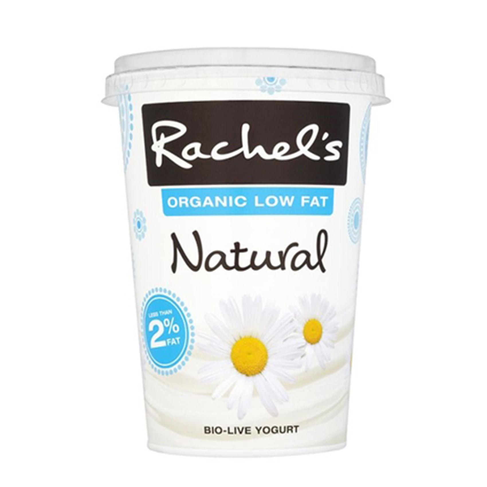 RACHEL'S O LOW FAT PLAIN YOG 450G