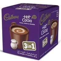 Cadbury Hot Cocoa 3 In 1 Sachets 30gx10