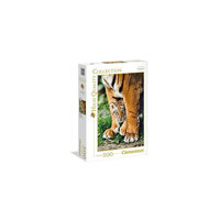 Clementoni Puzzle Bengal Tiger Cub Between Its Mother'S Legs 500 Pieces