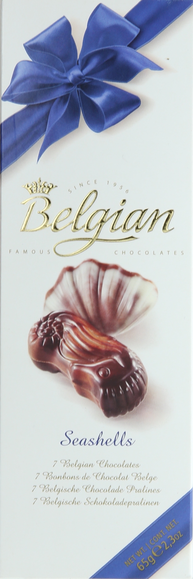 BELGIAN CHOCO SEASHELL 65GR