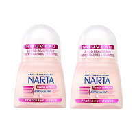 Anti Transpirant Narta Women Deodorant Roll On Touche De Nacre 50ML 20% Off X2