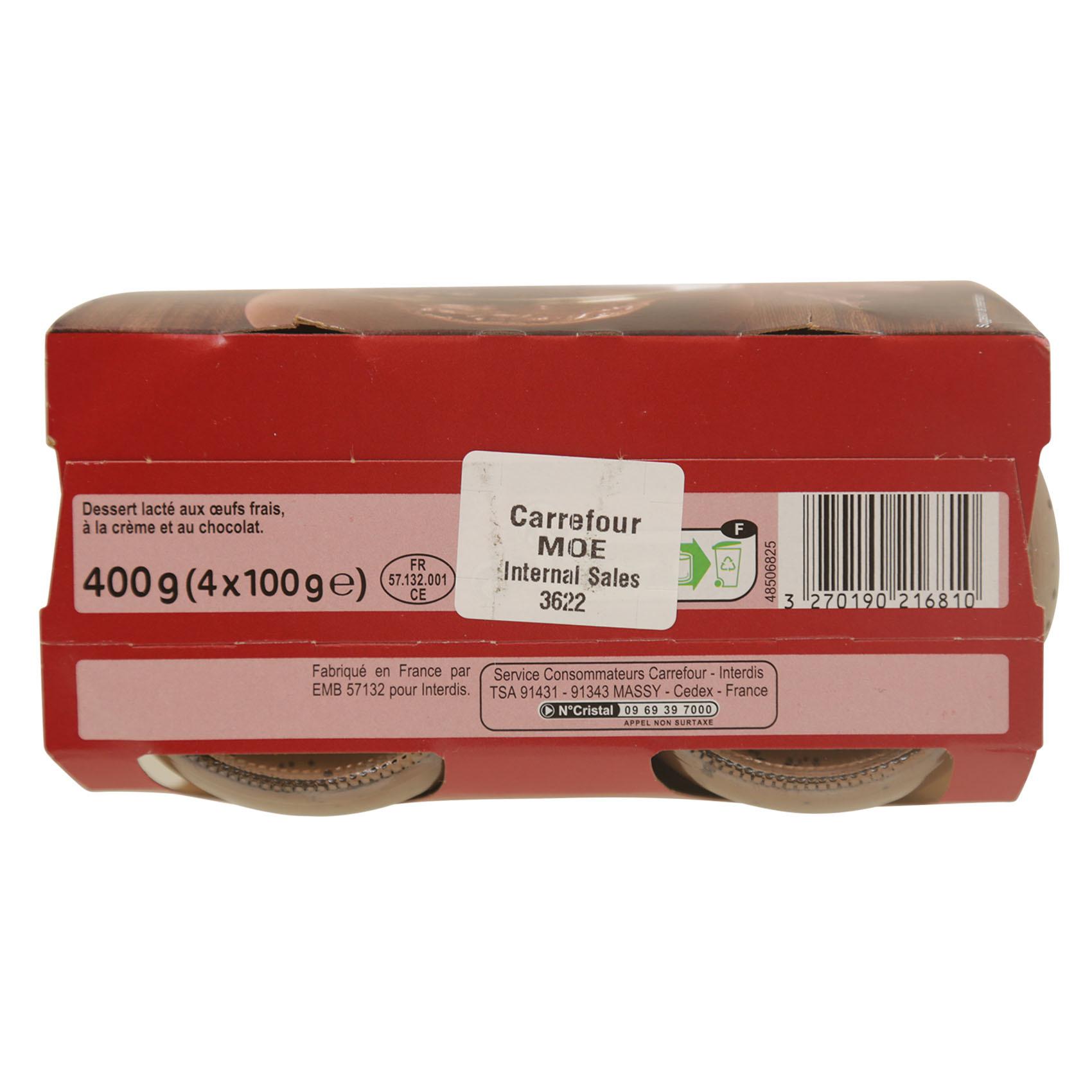 CRF CREAM CHOCO JAR 100GX4