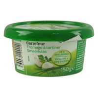 Carrefour Cheese Spread Garlic And Sweet Herbs 150g