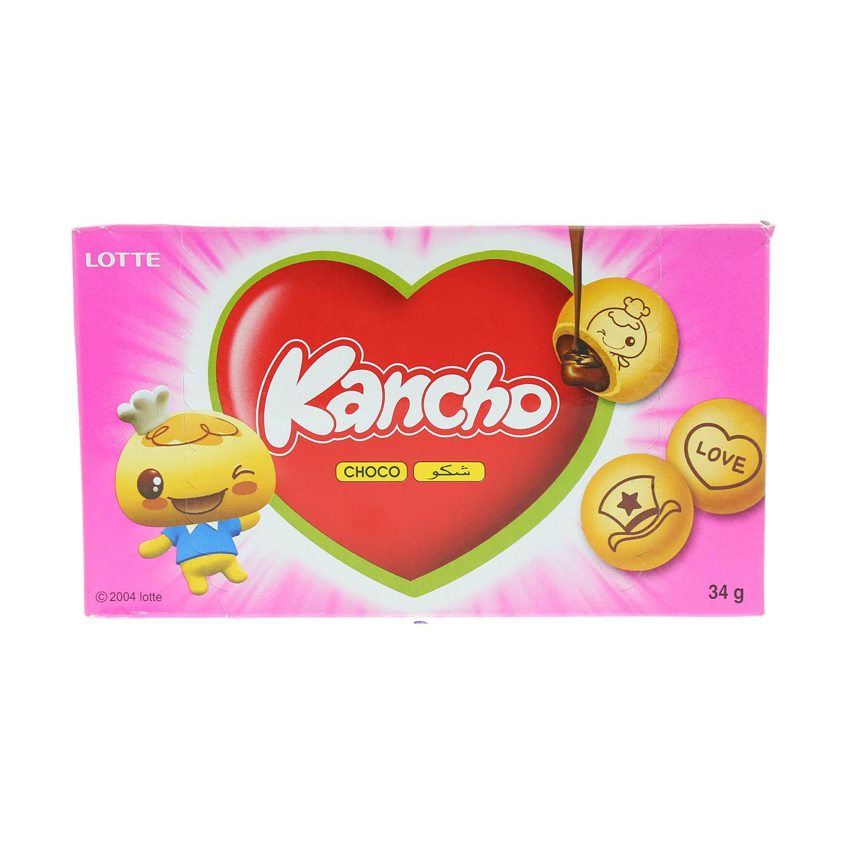 LOTTE BISCUITS KANCHO 34G