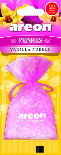 Areon Air Freshener Cardboard Vanilla Bubble Pearls