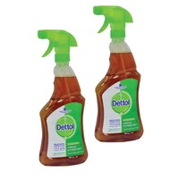 Dettol Antibacterial Surface Disinfectant 500ml 2 Pieces