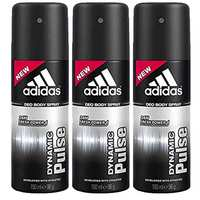 Adidas Deodorant Dynamic Pulse Male 150 Ml 3 Pieces