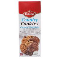 Hellema Country Cookies Coconut Chocolate 175g