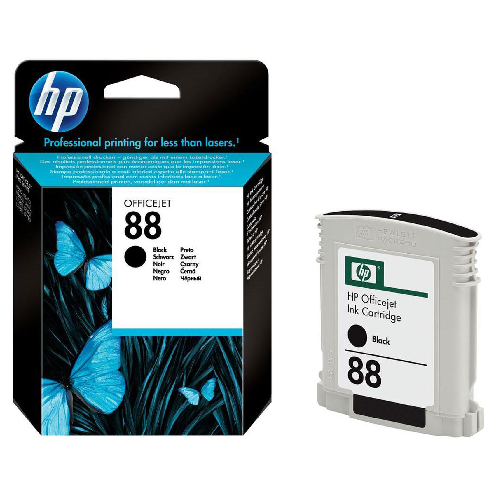 HP CART 88 BLACK