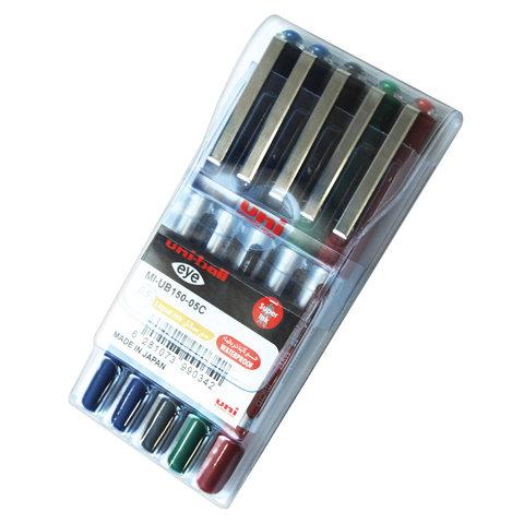 Uni-Ball-Eye-Micro-R/Pen-5Color