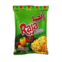 Raja Potato Crunchies Vegetable Flavor 70g
