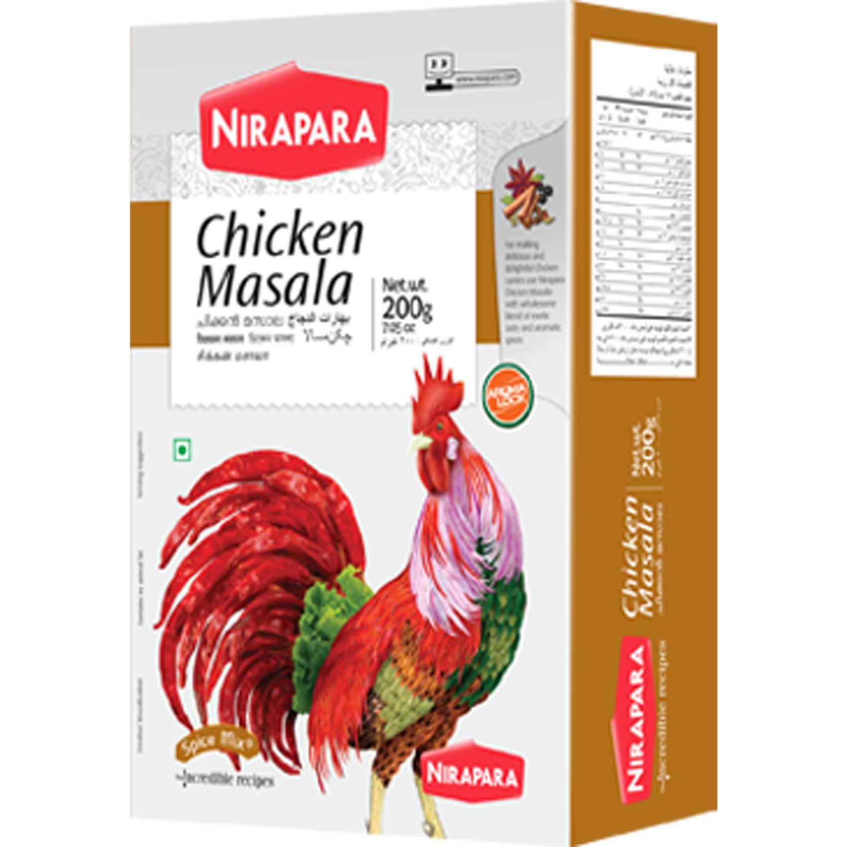 NIRAPARA CHICKEN MASALA 200G