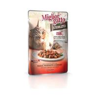 Miglior Gatto Manzo Prosciutto E Verdure 85GR