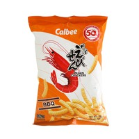 Calbee Prawn Crackers Bbq 70g