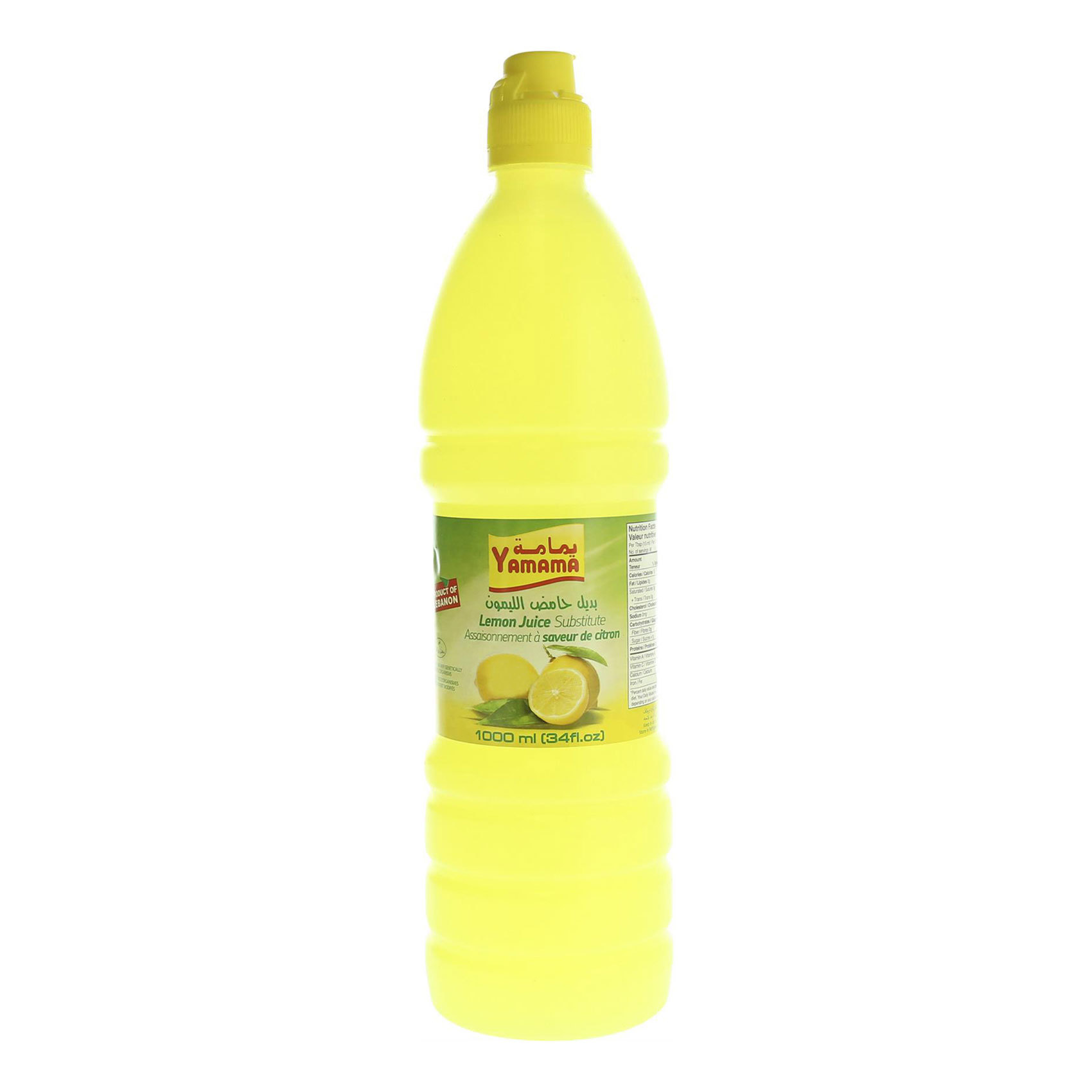 YAMAMA LEMON JUICE 930ML