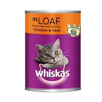 Whiskas Mince Chicken And Veal In Loaf 400GR