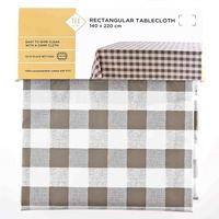 TEX Table Cloth 140x220 Taupe