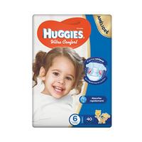Huggies Diapers Ultra Comfort Jumbo Size 6 40 X2 Diapers