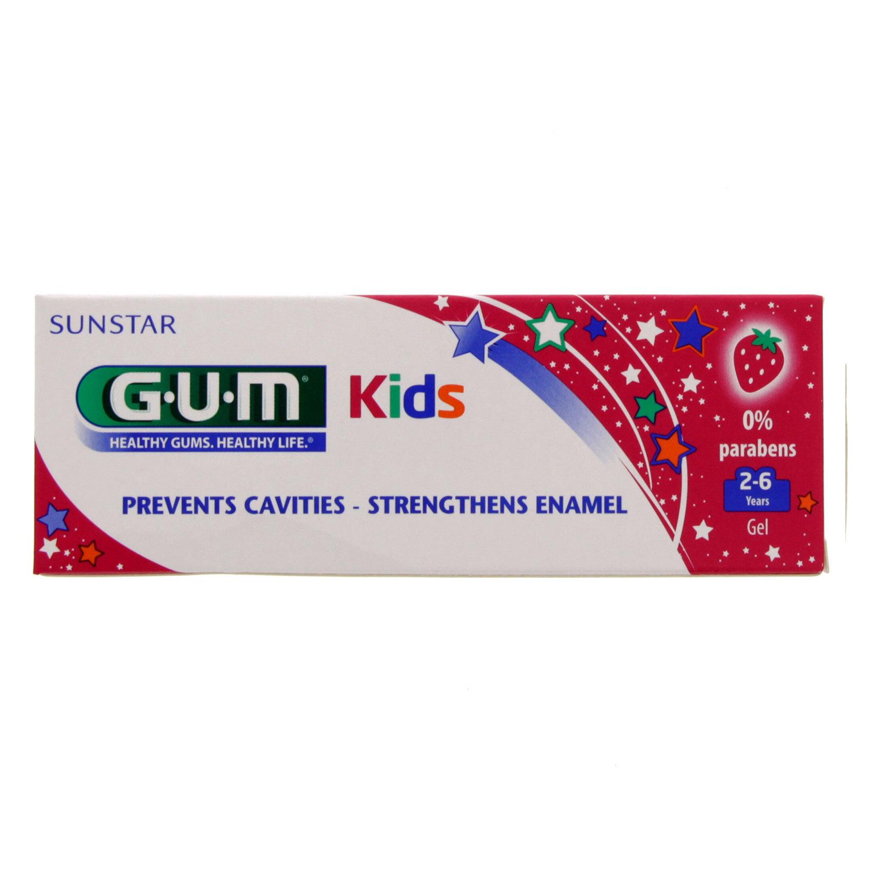 GUM KIDS TOOTHPASTE 50ML 2-6 YEARS