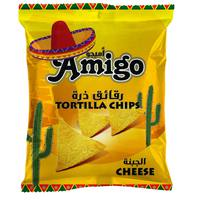 Amigo Tortilla Chips Cheese Flavor 250g
