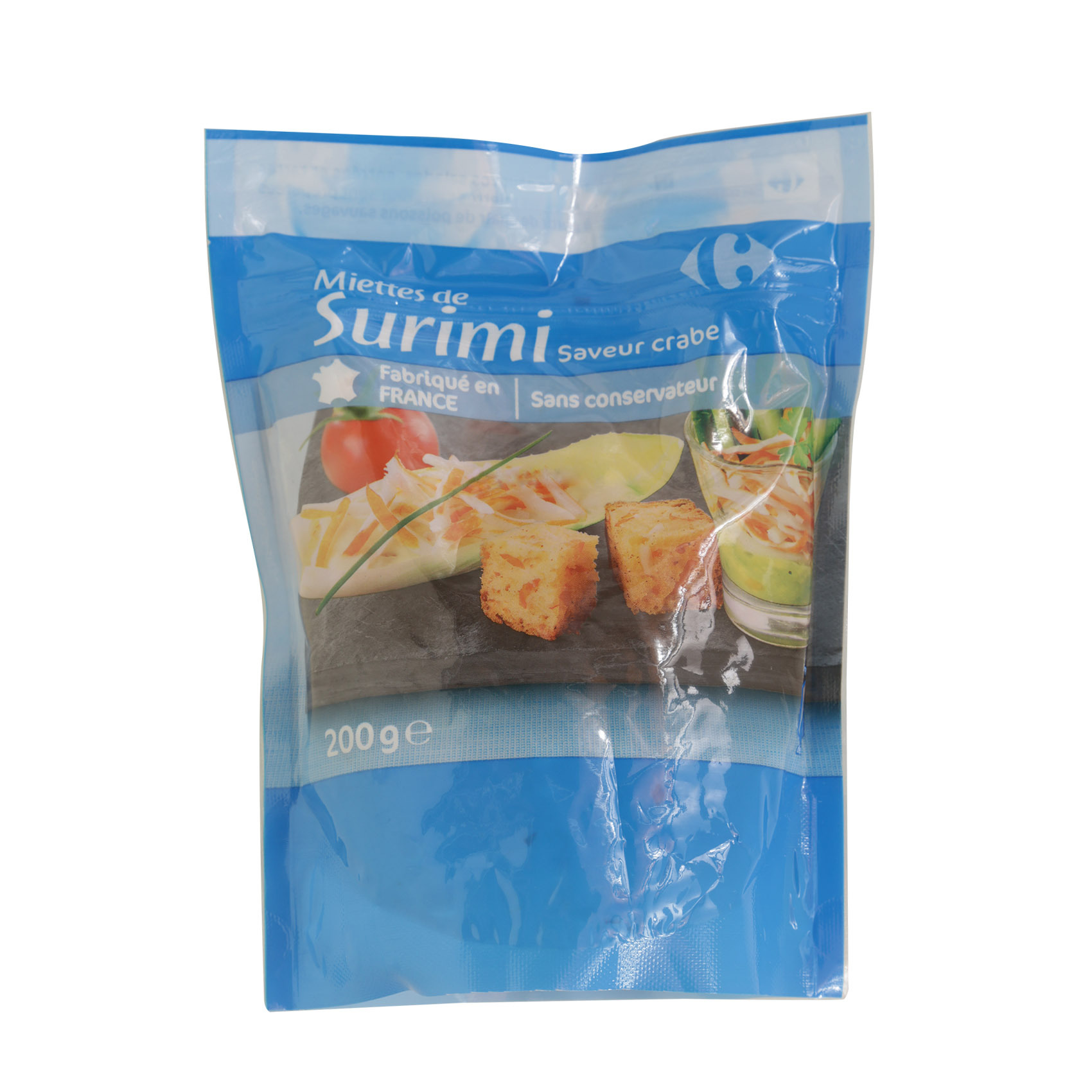 CRF SURIMI SHREDDED 200G