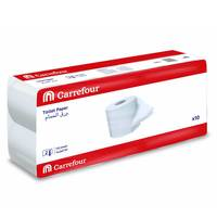 Carrefour Toilet Paper 130 Sheet 2 Ply 10 Rolls