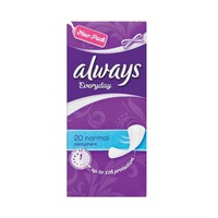 Always Ladies Pads Wrap & Fold 20 Napkins