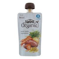 Heinz Organic Sweet Baby Vegetables Puree 120g