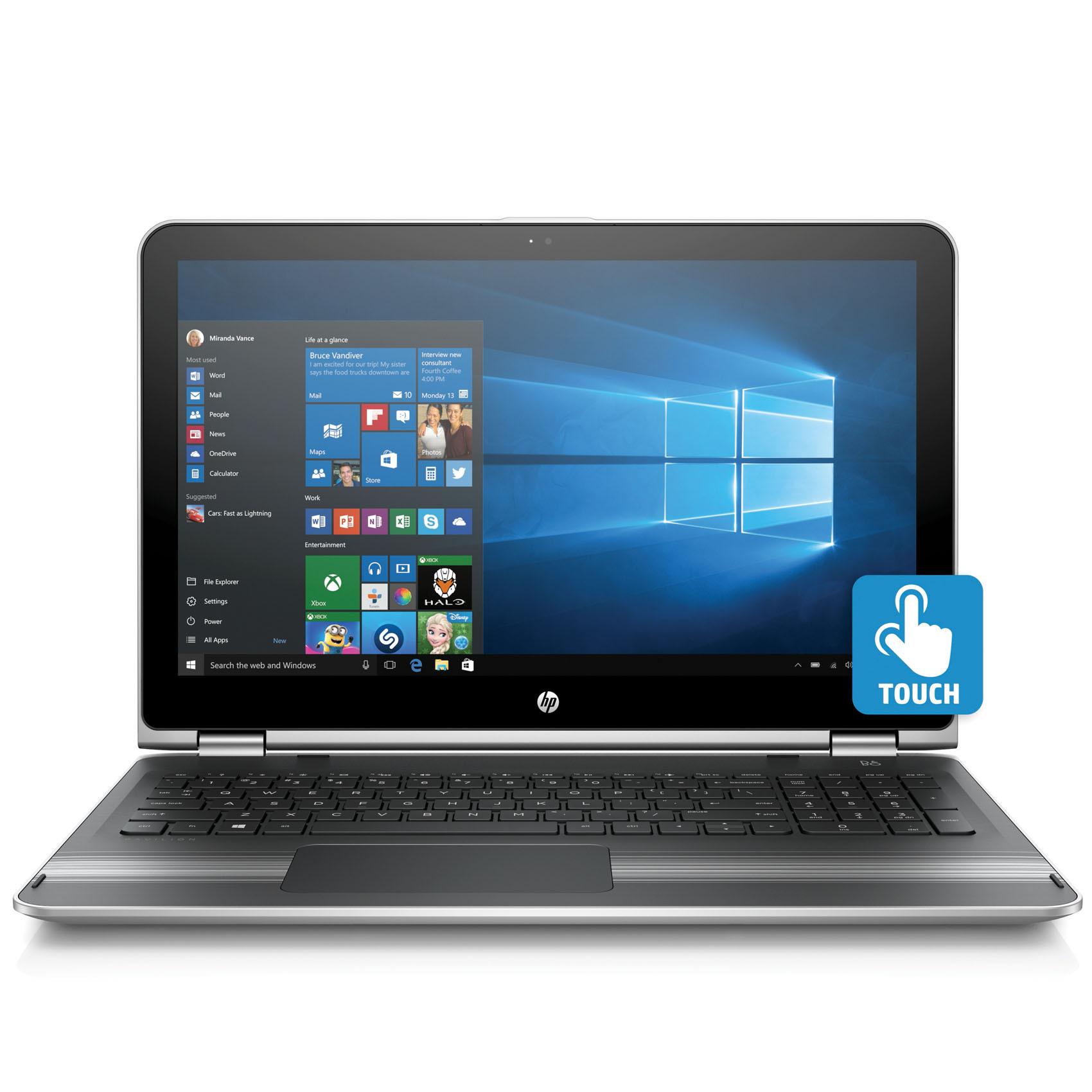 HP 2IN1 15-BK011 I7-6500/8/500/W10T