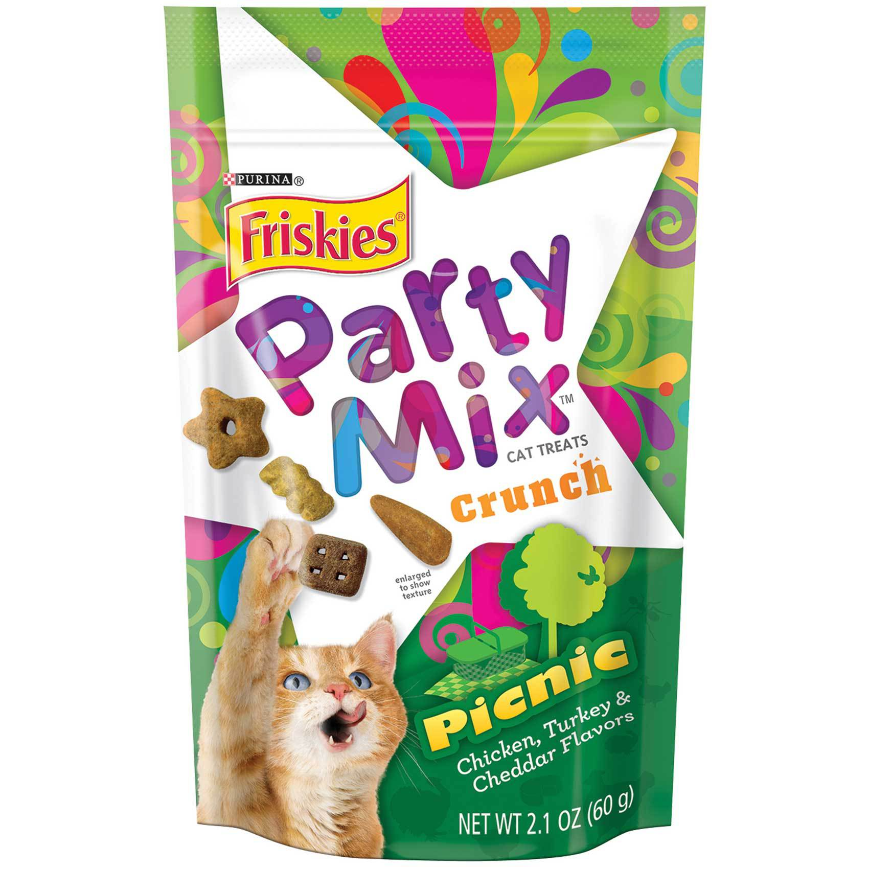 FRISKIES PARTY MIX PICNIC 60G