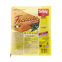 Dr Schar Bread Focaccia Con Rosmarino Gluten Free 200GR