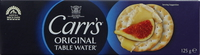 Carrs Original Table Water Crackers 125g