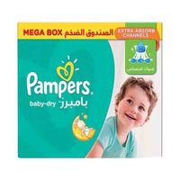 Pampers Diapers Active Baby Mega Box Size 6 72 Dry Diapers