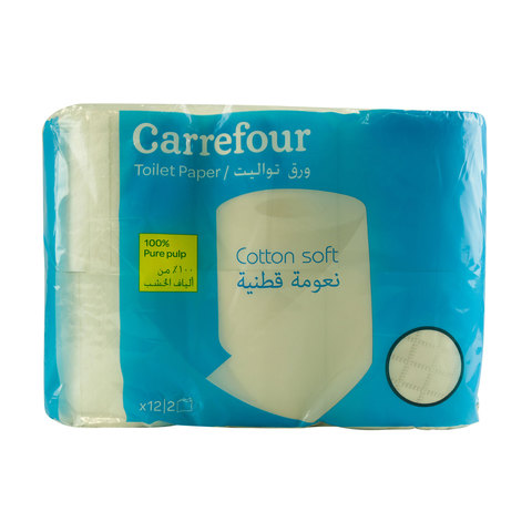 Carrefour-Toilet-Paper-2Ply-12-Rolls