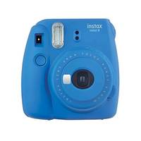 FUJIFILM Instax Mini 9 Instant Film Camera Cobalt Blue