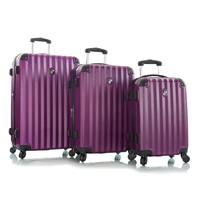 Heys Ridge 4W Trolley 3Pcs Set Purple