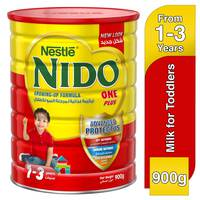 Nestlé Nido FortiProtect One Plus (1-3 Years Old) Growing Up Milk Tin 900g