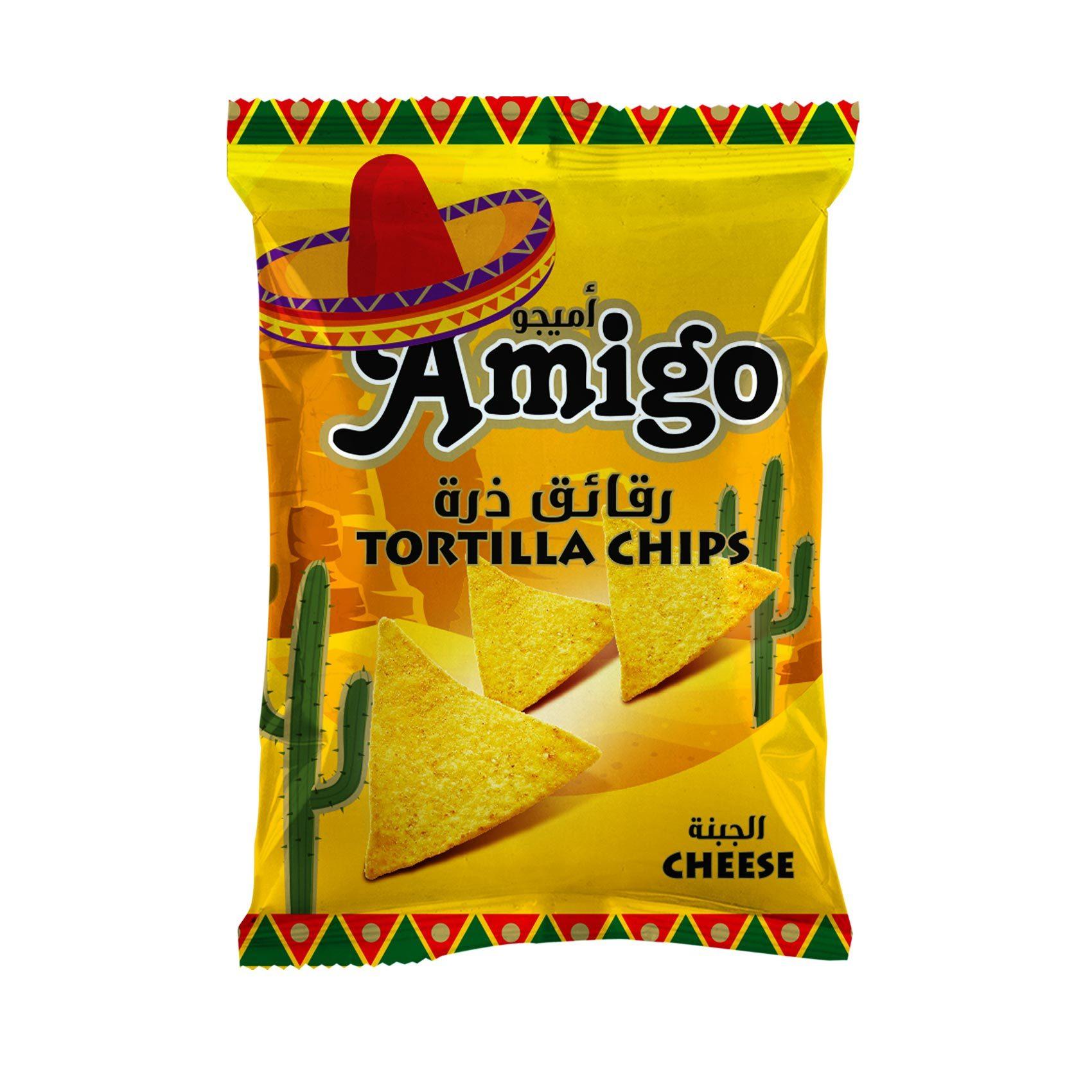 AMIGO TORTILLA CHEESE 100GR