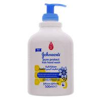 جونسون حماية نقية سائل تنظيف اليدين للأطفال 500 مل