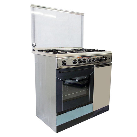 Indesit-90X60-Cm-Gas-Cooker-K9B11SXI-4Burners-and-2-Electric