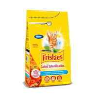 Purina Friskies With Salmon & Vegetable Cat Dry Food 7.5KG
