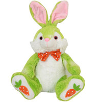 Cuddles Rabbit Bow 31Cm