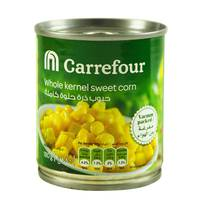 Carrefour whole kernel sweet corn 180 g