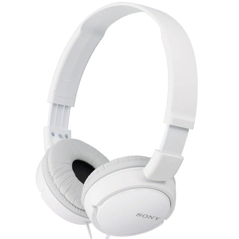 Sony-Headphone-MDR-ZX110LP-White