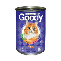 Goody Cat Canned Food With Liver & Rabbit 415GR