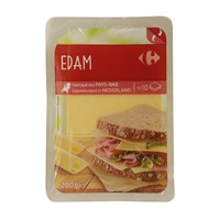 Carrefour Edam Slices 200g