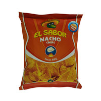 El Sabor Nacho Chips Texas BBQ 100g