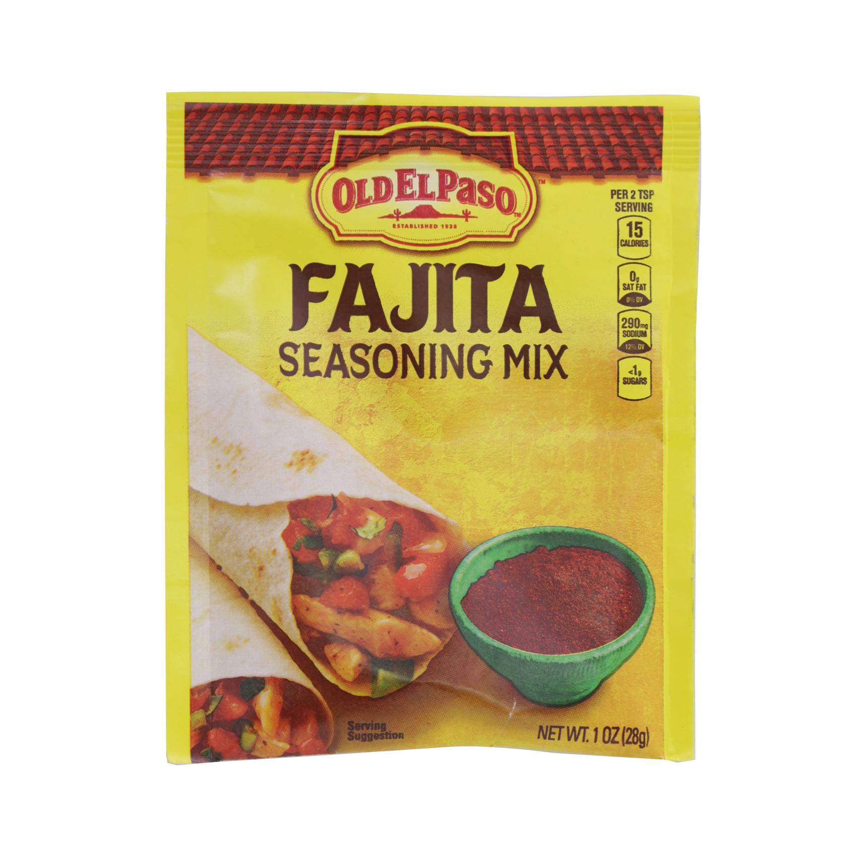 OLD EL PASO SEASONING FAJITA 28.3G