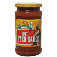 Cantina Mexicana Hot Taco Sauce 220g